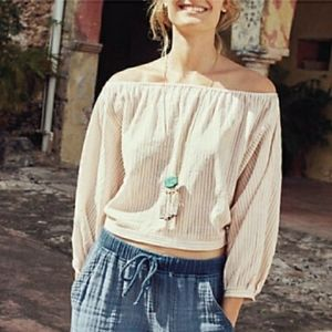 Anthropologie Holding Horses Aria Pink Blouse Med